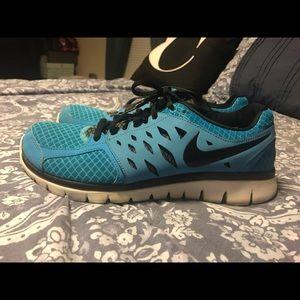 Blue Nike Men's Sneakers Size 9
